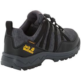 Jack Wolfskin Thunderbolt Texapore Chaussures à tige basse Enfant, black/dark grey